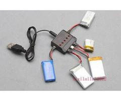 3.7V 5 in 1 Lipo Battery Charger Adapter USB Interface for SYMA X5C-1/