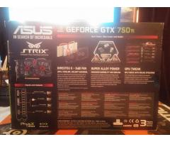 Placa video ASUS GTX 750 Strix edition, Ti, Oc, 2GB GDDR5, 0dB Fan