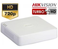 dvr 4 canale turbo hd / ahd hikvision
