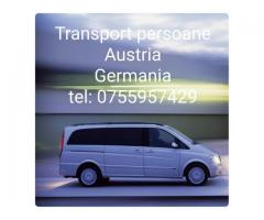 Transport persoane Germania zilnic