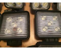 LED lampă pătrată Flood 4WD Off-road Truck Jeep SUV