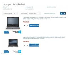 Laptopuri Refurbished 3 ani garantie