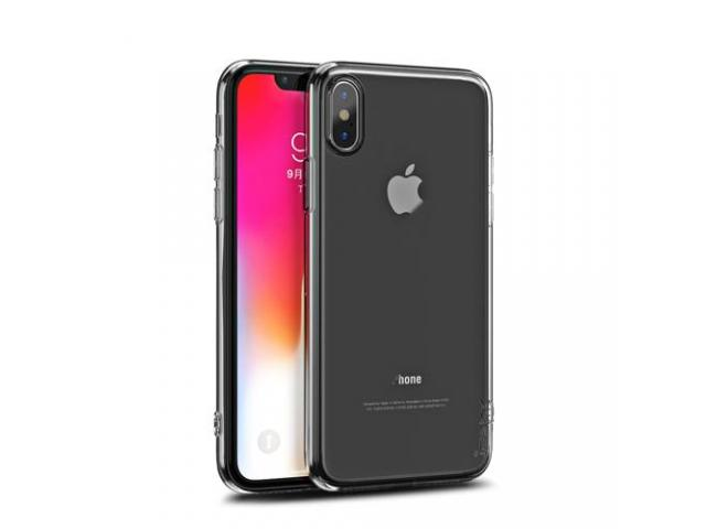 Husa Ipaky Effort Plus Folie Securizata 9H Iphone XR Transparent - 1/4
