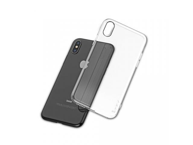 Husa Ipaky Effort Plus Folie Securizata 9H Iphone XR Transparent - 2/4