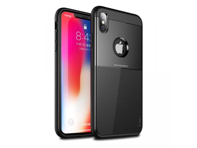 Husa Ipaky Shield Iphone X, XS Negru, Dark blue - 1/5