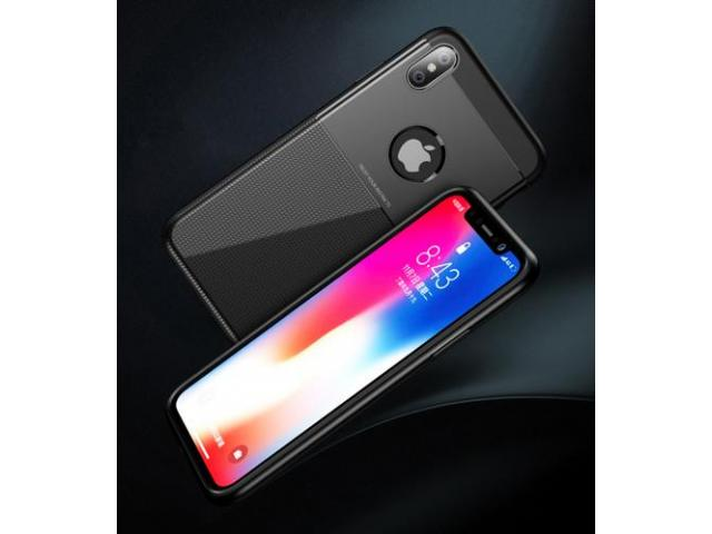 Husa Ipaky Shield Iphone X, XS Negru, Dark blue - 3/5