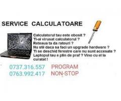 Reparatii calculatoare-laptop instalez windows drivere programe non stop