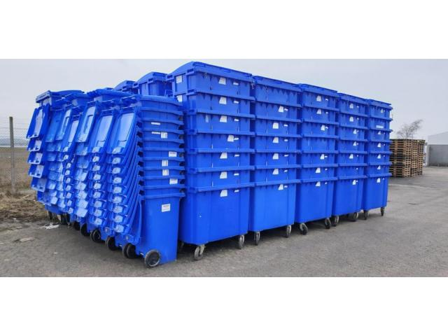 Eurocontainere 660L/eurocontainere second hand 660L/ containere 660L - 1/4
