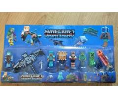 set figurine Minecraft, jucarii