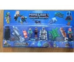 set figurine Minecraft