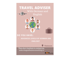 Travel Adviser with German and English