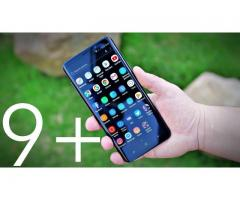 Super Samsung Galaxy S9 PLUS, 4G dual sim, 64gb, 6gb ram, 4K