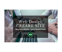 Creare Site | Web Design | SEO | Startup Nation| Preț PROMO